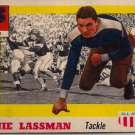 1955 Topps All American Arnie Lassman #46 N.Y.U. Football Card, cards