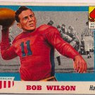 1955 Topps All American Bob Wilson #71 Southern Methodist Football Card, cards