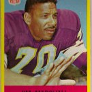 1967 Philadelphia Jim Marshall #103 Vikings Football Card, cards