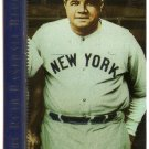 Babe Ruth 1995 Upper Deck Hero Header Baseball Card cards