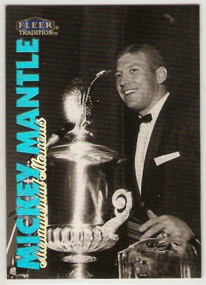 1998 Fleer Tradition Mickey Mantle Monumental Moments #6 of 10 Baseball  Card, cards