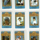 1981 Perma Graphics All-Star Baseball 18 Card Set