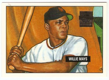 Willie Mays 1997 Topps 27 Card REPRINT SET Baseball Card, cards