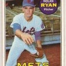 Nolan Ryan 1969 Topps #533 Mets Baseball Card, cards