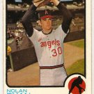 Nolan Ryan 1973 Topps #220 Angels Baseball Card, cards