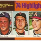 Nolan Ryan 1975 Topps #7 Angels Baseball Card, cards