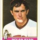 Nolan Ryan 1976 Topps #330 Angels Baseball Card, cards