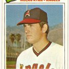 Nolan Ryan 1977 Topps #234 Angels Baseball Card, cards