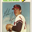 Nolan Ryan 1977 Topps #650 Angels Baseball Card, cards