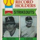 Nolan Ryan 1979 Topps #417 Angels Baseball Card, cards
