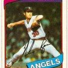 Nolan Ryan 1980 Topps #580 Angels Baseball Card, cards