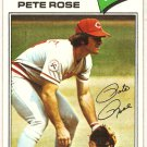 Pete Rose 1977 Topps #450 Reds N.L. All-Star Card, cards