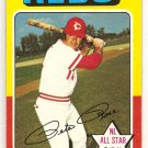 Pete Rose 1975 Topps #320 Reds NL All-Star Card, cards