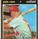 Pete Rose 1971 Topps #100 Reds Baseball Card, cards
