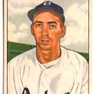 Billy Cox 1950 Bowman #194 Dodgers Baseball Card, cards