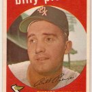 1959 Topps Billy Piece #410 Chicago White Sox Baseball Card, cards