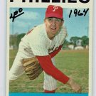 1964 Topps John Boozer Philadelphia Phillies Baseball Card, cards