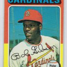 1975 Topps Bob Gibson St. Louis Cardinals Card, cards
