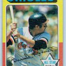 1975 Topps Brooks Robinson Baltimore Orioles Card, cards