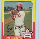 1975 Topps Joe Morgan Cincinnati Reds Card, cards