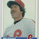 1984 Fleer Mike Schmidt #48 Phillies Baseball Card cards