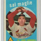 1959 Topps Sal Maglie #309 St. Louis Cardinals Baseball Card, cards