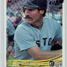 1984 Donruss Wade Boggs #151 Boston Red Sox Baseball Card,cards