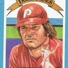Pete Rose 1982 Donruss Diamond King #1 Phillies Baseball Card, cards