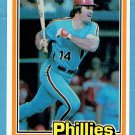 Pete Rose 1981 Donruss #251 Phillies Baseball Card, cards
