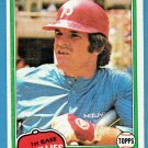 Pete Rose 1981 Topps #180 Phillies Baseball Card, cards