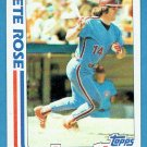 Pete Rose 1982 Topps In Action #781 Phillies Baseball Card, cards