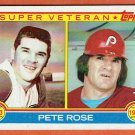 Pete Rose 1983 Topps#101 Super Veteran Baseball Card, cards
