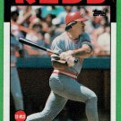 Pete Rose 1986 Topps Seven Card lot Baseball Card, cards