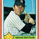 1976 Topps Graig Nettles #169 New York Yankees Card,cards