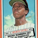 1976 Topps Willie Randolph #592T New York Yankees Card,cards