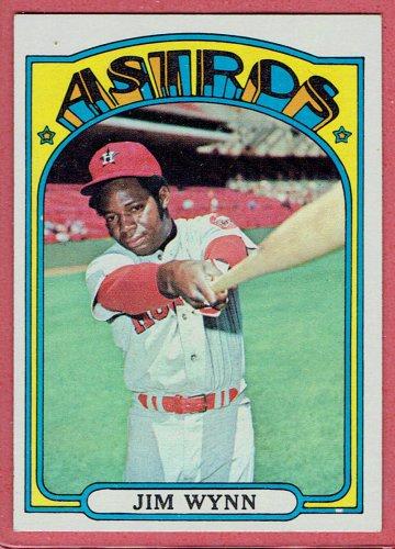 1972 Topps Jim Wynn #721 Houston Astros Baseball Card, cards