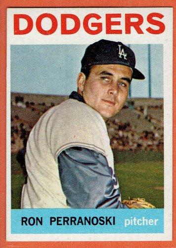 1964 Topps Ron Perranoski #30 Los Angeles Dodgers Baseball Card, cards