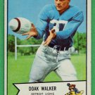 1954 Bowman Doak Walker #41 Detroit Lions Football Card, cards