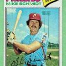 1977 Topps Mike Schmidt Philadelphia Phillies Baseball Card, cards