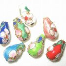 Sale! 50 7x13mm Teardrop Handmade Cloisonne Beads (S)