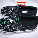 Boys Canvas slip on Asteroid Boys Sneakers Space Shoes 9