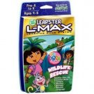 New LeapFrog Leapster L-Max Educational Game: Dora the Explorer Wildlife Rescue