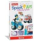 Fisher Price Spark Art Creativity Kit: Rescue Kids Arts & Crafts