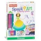 Fisher Price Spark Art Creativity Kit: Princess Kids Arts & Crafts