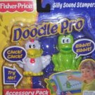 Fisher Price Doodle Pro Silly Sound Stampers Accessory Pack - Chicken and Frog