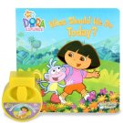 Spinmaster Storytime Theater Nick JR.  Dora the Explorer What Should We Do Today