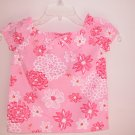 Lilly Pulitzer Ellis Top Lilly's Pink Tropical Punch Girls Size 5