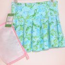 Lilly Pulitzer Belle Skirt Printed Fly By  Wit Mesh Bag Extra SMALL