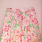 Lilly Pulitzer Elissa Skirt Sateen Queen Jungle Misses ladies 12 NWT