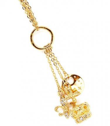 Charm Pendant & Necklace